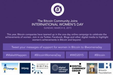 #BitcoinWomensDay. 8 марта – Женский...