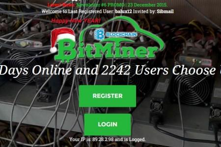 Облачный майнинг: bitminer.eu