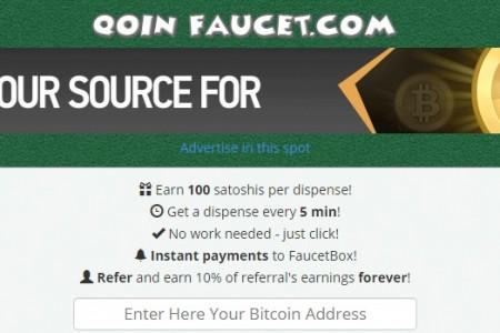 Биткоин кран qoinfaucet.com