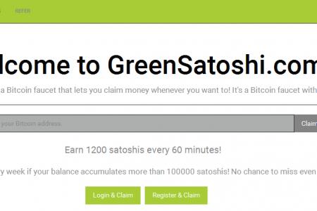 Раздача сотошей от greensatoshi.com