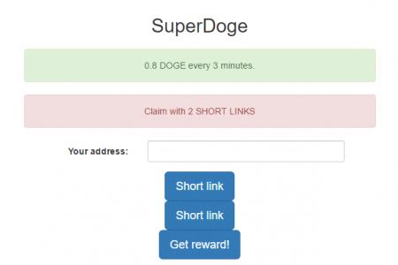 0.8 DogeCoin каждые 3 минуты