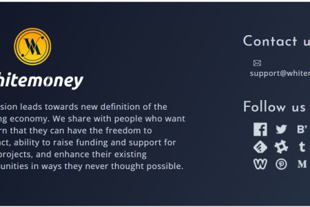 Airdrop Whitemoney — $50 за регистрацию