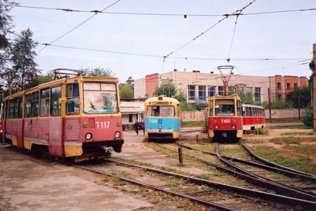 Майнинг-ферма в трамвайном...