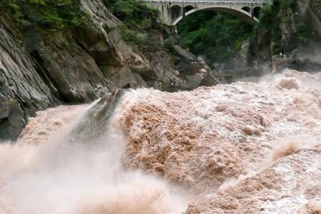 Наводнение в Китае вывело...