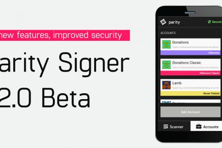 Parity Signer V2.0 превращает смартфон...